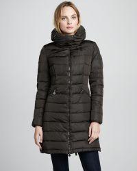 Moncler Flamme Puffer Coat - Black