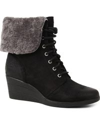 Ugg Zea Ankle Boots - For Women - Lyst