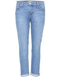 A'n'd Carter Boyfriend Jeans - Blue