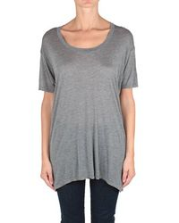 Enza Costa Cotton Tunic Top - Lyst