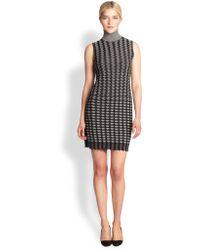 Missoni Knit Turtleneck Dress - Lyst
