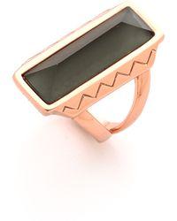Rebecca Minkoff Stone Ring - Pink