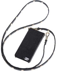 Bandolier Sarah Iphone Case Studded Strap Gold - Lyst