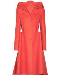 Bottega Veneta Wool and Cashmereblend Peplum Coat - Lyst