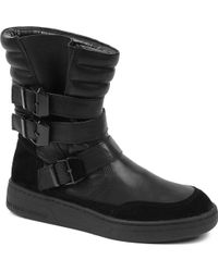 KG by Kurt Geiger Top Leather Ankle Boots - Lyst