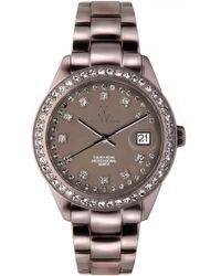 Toy Watch - Swarovski Crystal Aluminium Watch - Lyst
