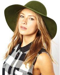 Cheap Monday Criss Floppy Hat - Green