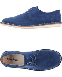 Pointer Laced Shoes - Lyst