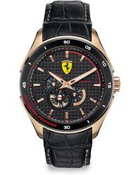 Scuderia Ferrari Gran Premio Watch 45mm - Metallic