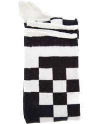 Bernhard Willhelm - Checked Socks - Lyst
