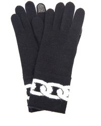 Diane von Furstenberg - Dollie Chain Knitted Gloves - Lyst