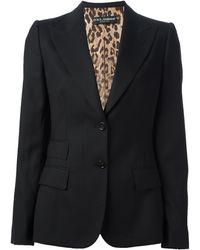 Dolce & Gabbana Trouser Suit - Black