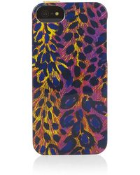 Juicy Couture - Iphone 5 Leo Print Case - Lyst