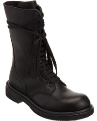 Rick Owens Army Boot - Lyst