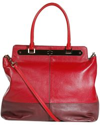Valentino Bag Shopping Absolute Three Colours red - Lyst