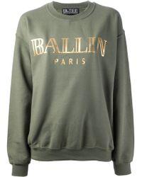 Brian Lichtenberg Ballin Sweater - Green