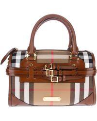 Burberry House Check Shoulder Bag - Lyst