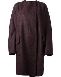 Jil Sander Single Breasted Coat - Lyst