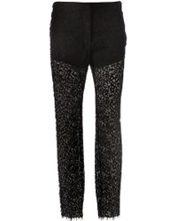 Sharon Wauchob - Floral Lace Trouser - Lyst