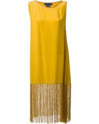 Sharon Wauchob Fringed Dress - Yellow