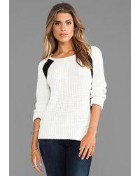 Townsen - Arden Sweater in White - Lyst