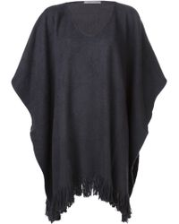 Denis Colomb | Cashmere Poncho | Lyst