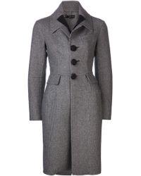 DSquared² 'Victoria' Coat gray - Lyst