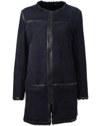 Isabel Marant Oversize Coat - Lyst