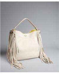 Prada Totes | Lyst? - prada double bag milky white/caramel