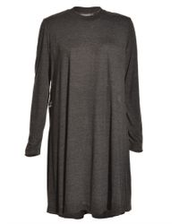 Antipodium - Peeper Jersey Dress in Charcoal Grey  - Lyst