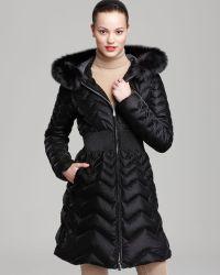 Dawn Levy Down Coat Charlize Velvet - Lyst