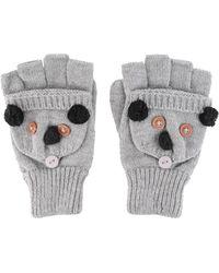 Forever 21 - Koala Convertible Gloves - Lyst