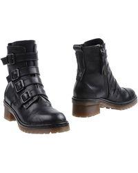 Key Té Ankle Boots - Black