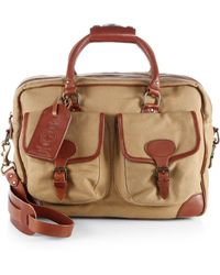 Polo Ralph Lauren - Twill Commuter Messenger Bag - Lyst 18454a2f46