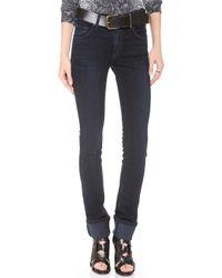 James Jeans Hunter High Rise Straight Leg Jeans - Lyst