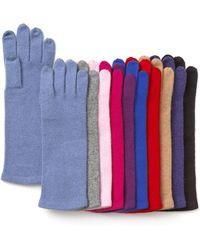 Echo Cashmere Blend Tech Gloves - Multicolour