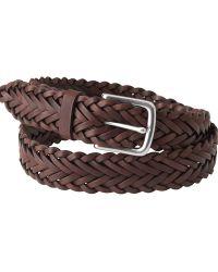Jaeger | Woven Leather Belt | Lyst