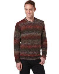 Perry Ellis - Wool-blend Ombre Stripe Jumper - Lyst