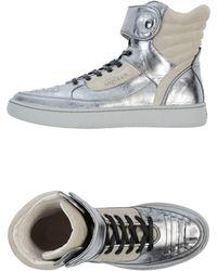 Alexander McQueen X Puma Hightop Sneaker - Gray