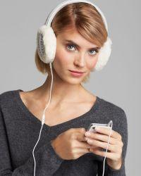 Ugg Marled Cardy Wired Earmuffs - Lyst