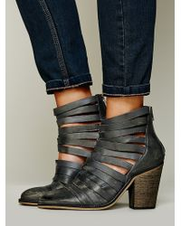 Free People Fp Collection Womens Hybrid Heel Boot - Grey