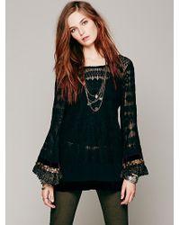 Gypsy Junkies Embellished Mimi Tunic - Black