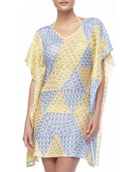 Missoni Puckered Fluttersleeve Cover-up - Lyst