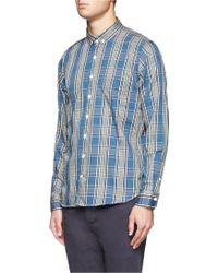Nanamica Plaid Cotton Shirt - Grey
