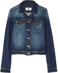 Paige Vermont Denim Jacket - Lyst