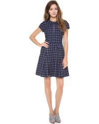 Timo Weiland Antonia Cap Sleeve Dress - Blue