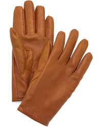 Club Monaco - Claudia Leather Gloves - Lyst
