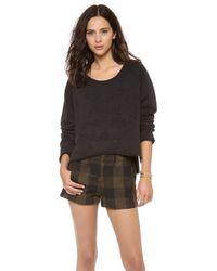 Osklen - Tribal Applique Sweatshirt - Lyst