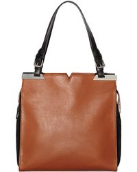 Vince Camuto Nadia Leather Tote Bag - Lyst