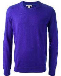 Burberry Brit Classic Crew Neck Sweater - Lyst